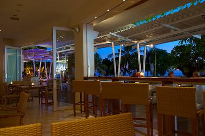 Cafe Sardinia, Kuta, Bali. After sunset.