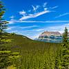 Banff National Park in foreground Jasper National Park in back