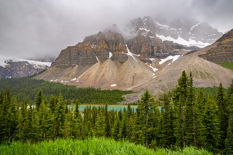 Crowfoot Mountain | Bow Lake