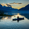 Kayaker | Waterfowl Lakes