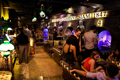 Inside Maggie Choo's night club in Bangkok