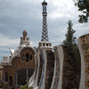Another view of the entrance to Park Guell