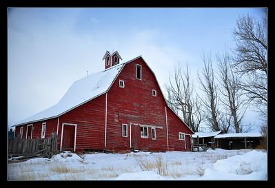 Red barn, South Idaho Falls, ID. 2.09. edited.