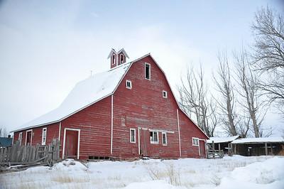 Red barn, South Idaho Falls, ID. 2.09