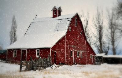 Red barn, South Idaho Falls, ID. 2.09.edited.
