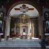 Binalonan main altar