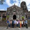 UPSCA friends in front of Binalonan church