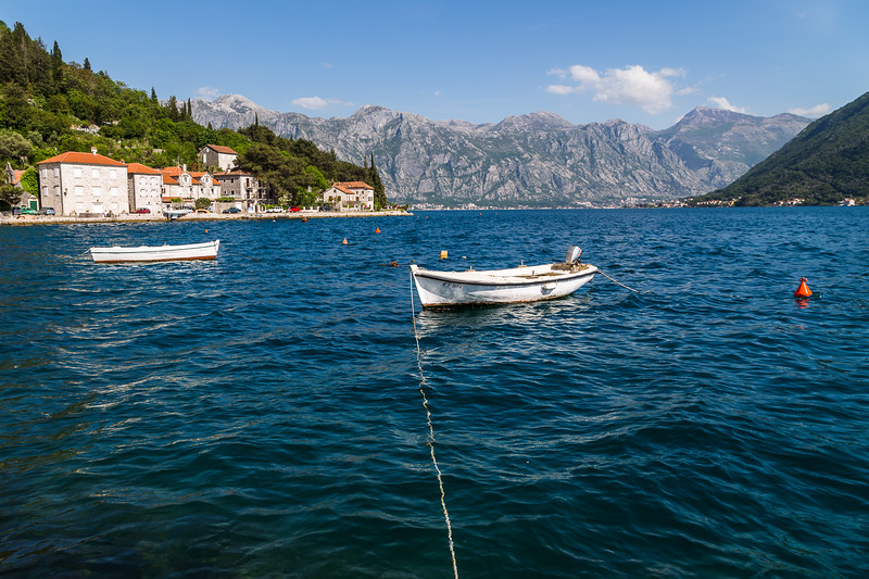 Pretty Perast in the Bay of Kotor
