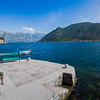 Panorama of Perast on the Bay of Kotor