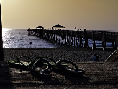 Beach and Piers