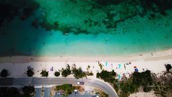 Maho from a drone