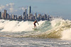 Surfing Burleigh afternoon 5-2-10