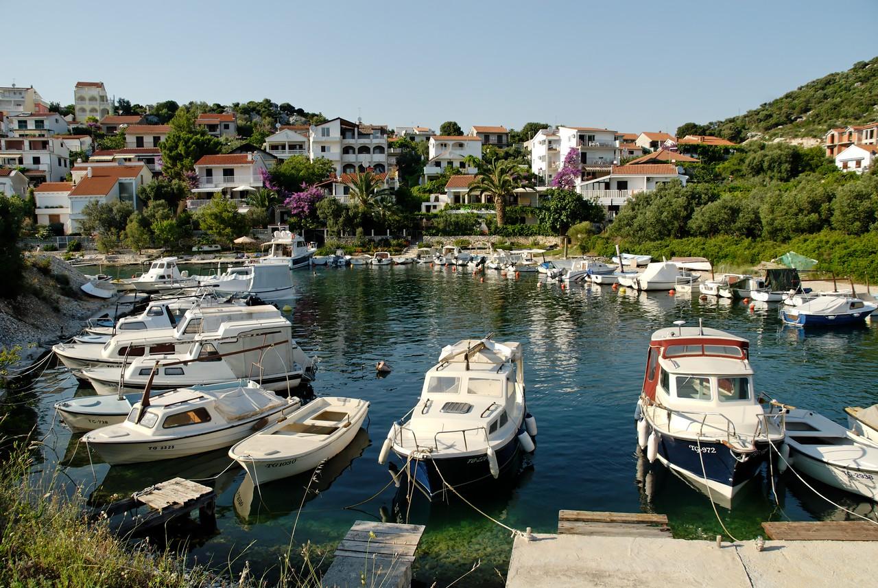 Near Okrug on the island of Čiovo not far from Trogir.
