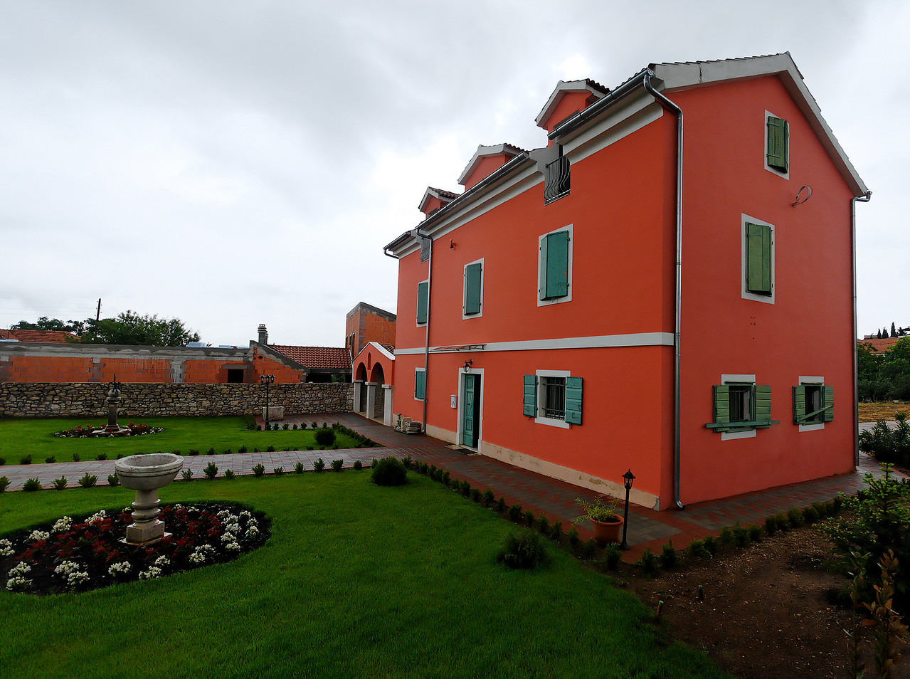 Home of a Priest. Island of Murter. Croatia.