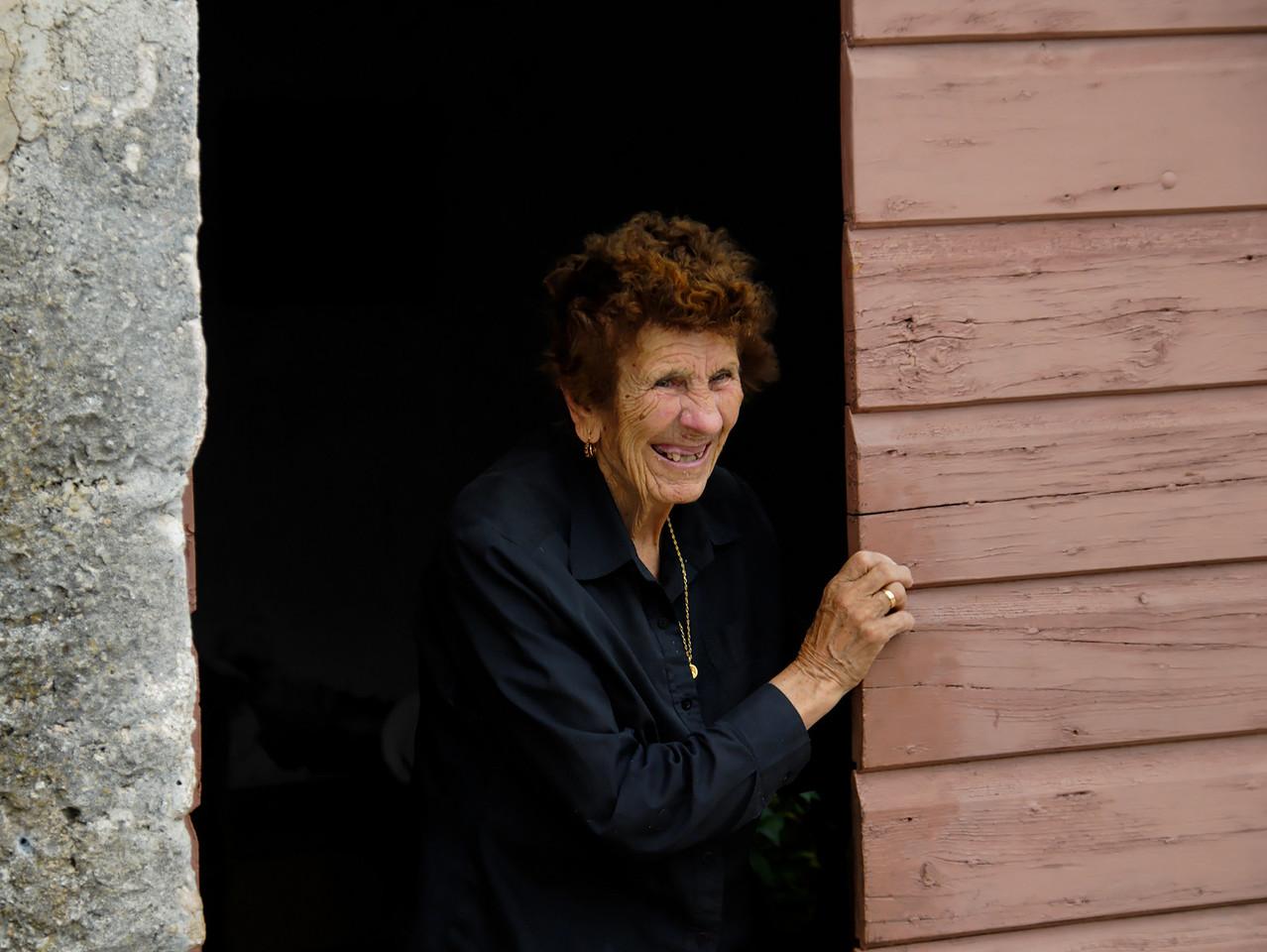 Old Woman. Island of Murter. Croatia.