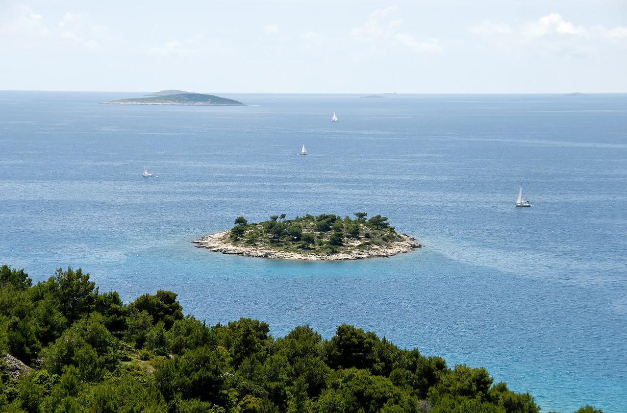 Island of Murter. Croatia.