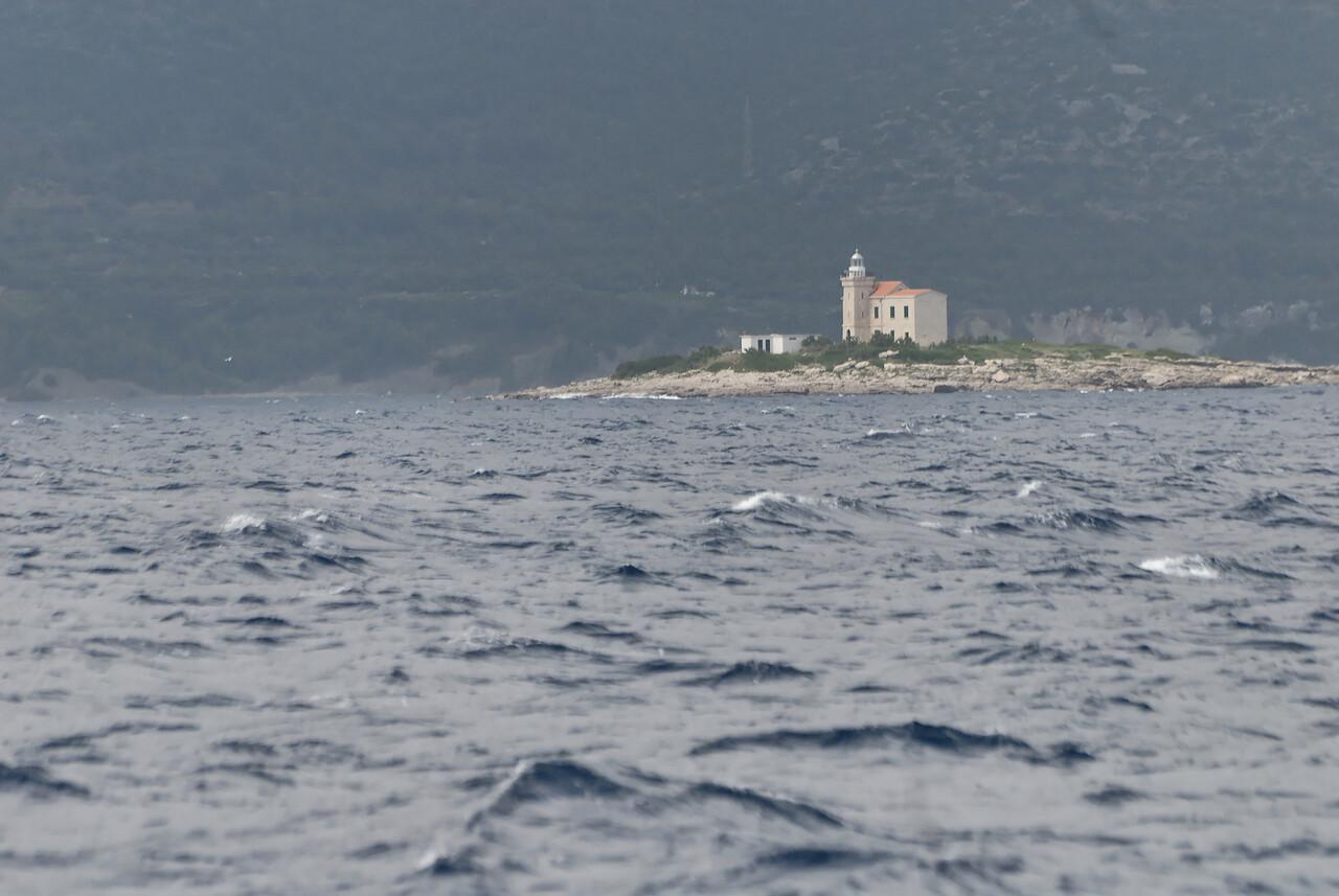 The Peljesac peninsula.