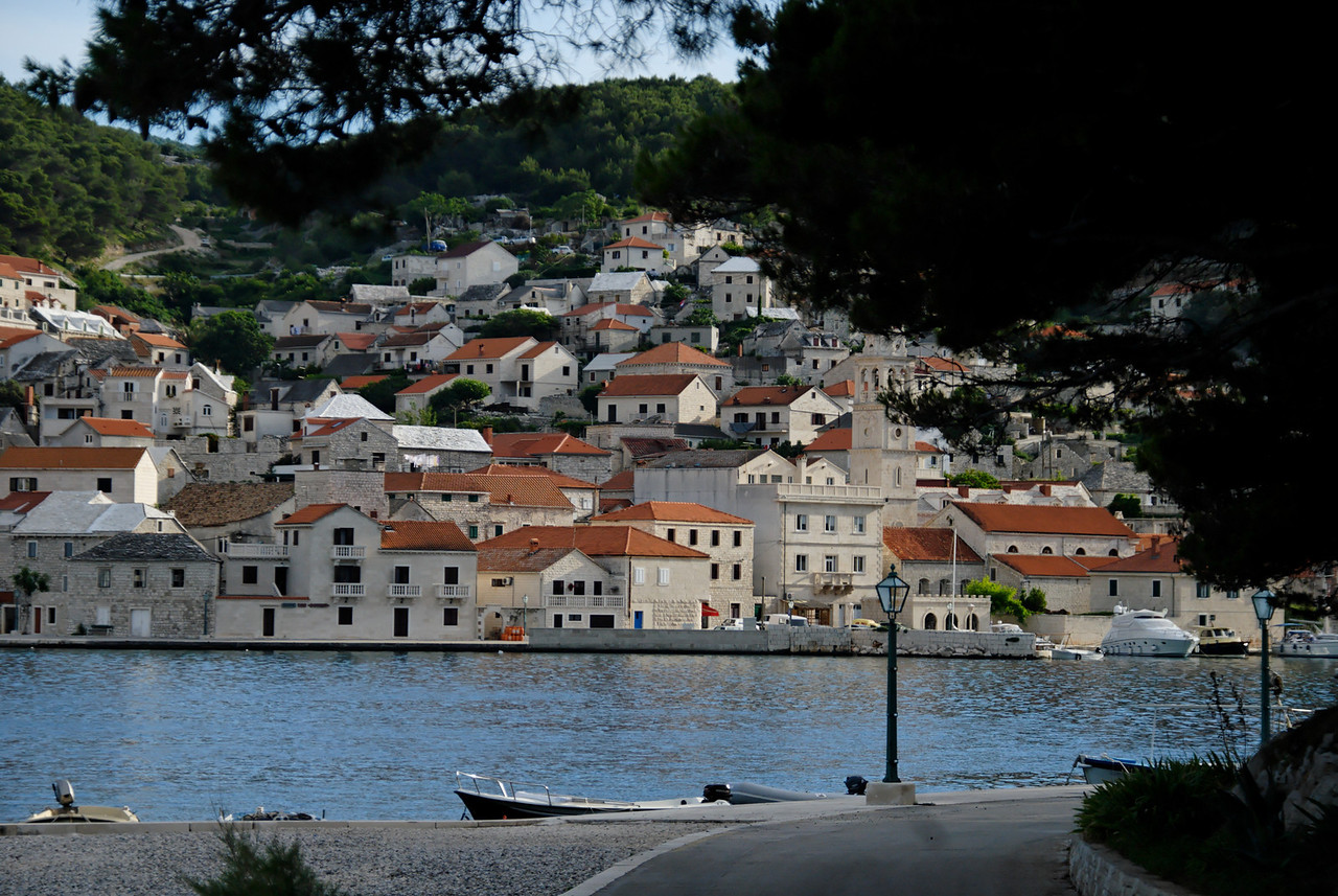 Pučišća on the island of Brac.