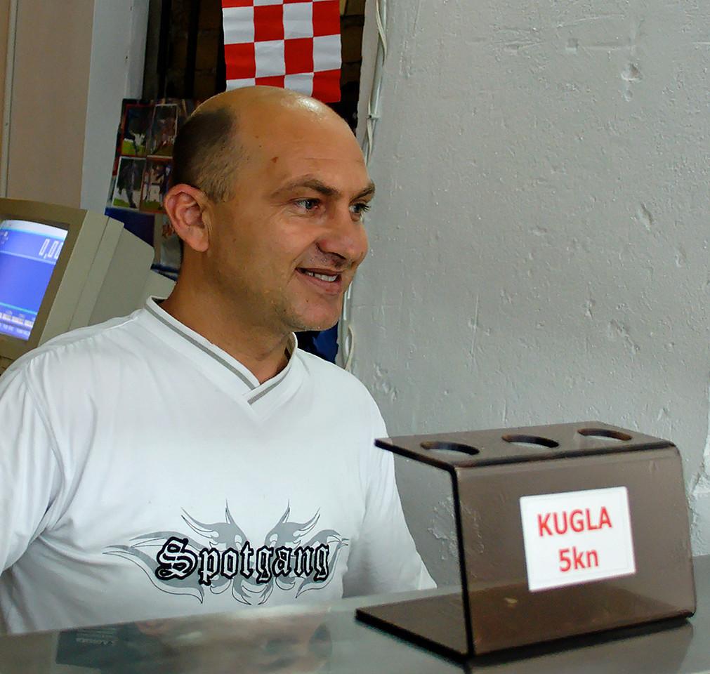 """Ice Cream Man."" Island of Murter. Croatia."