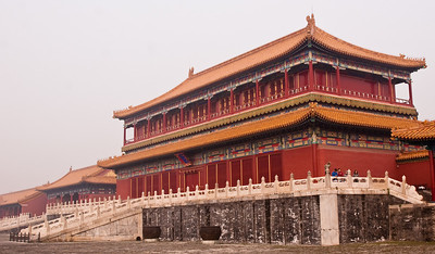 One of the minor buildings, Forbidden City