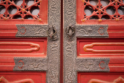 Door detail, Forbidden City