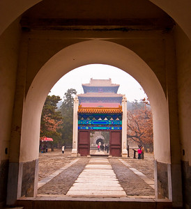 Gate details, Ming Tombs