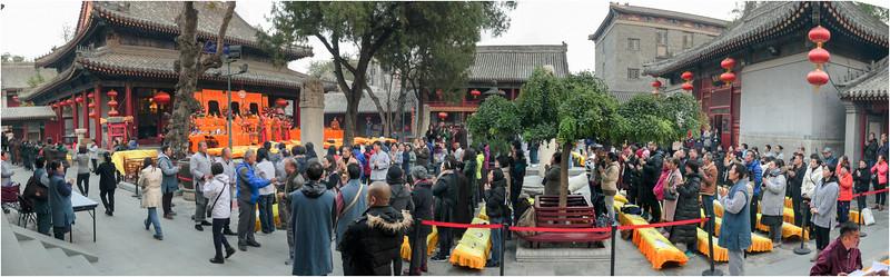 广化寺寒衣节法会