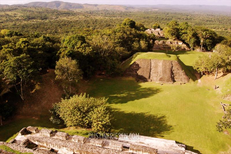 Mayan ruins at day
