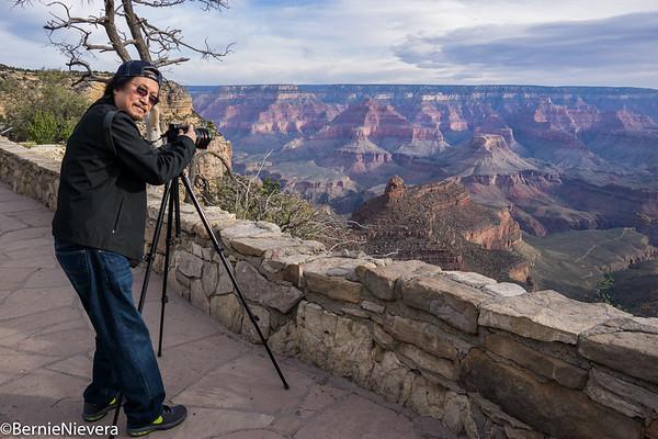 Bernie Nievera's images at Grand Canyon April 2017