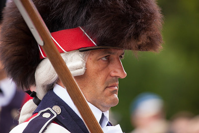The Old Guard Fife and Drum Corps performs on July 4