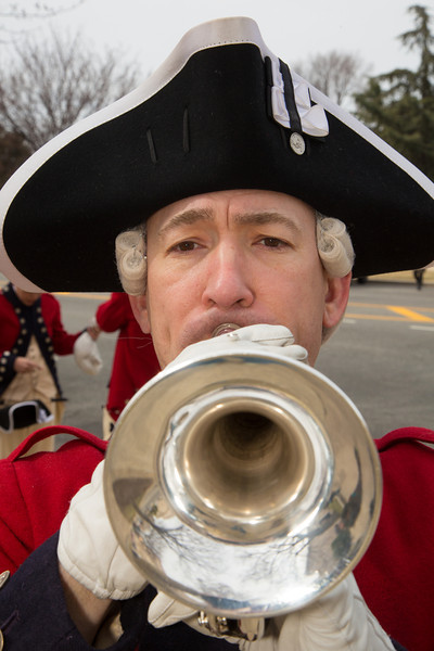 SSG Philip Savard, the Old Guard Fife and Drum Corps - St. Patrick's Day Parade, March 16, 2014