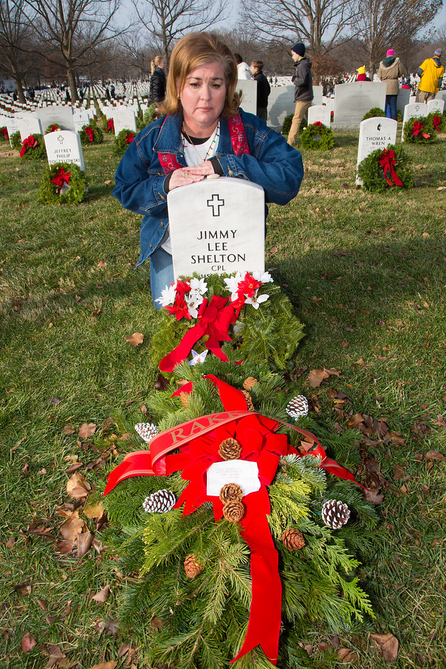 Arlington National Cemetery Wreaths Across America 2014