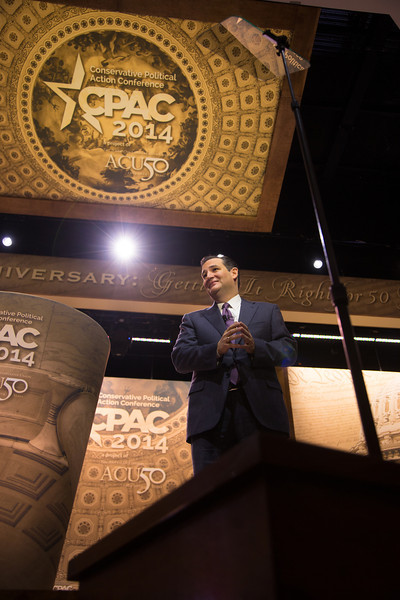 Sen. Ted Cruz (R-TX)<br /> Thousands of conservative activists from across the United States attended the annual Conservative Political Action Conference (CPAC) at the Gaylord National Resort & Convention Center at National Harbor, MD on March 6-8.