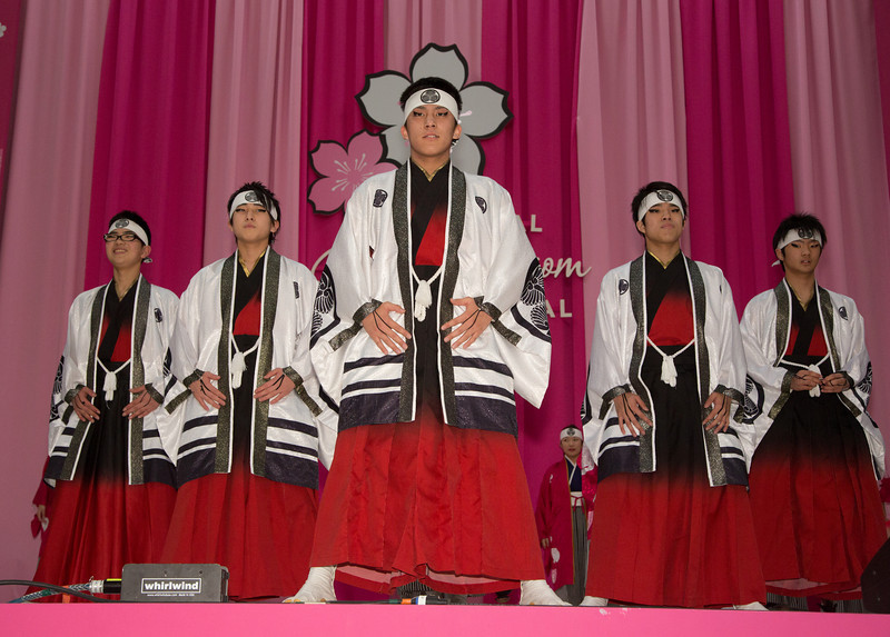 Gojin Yosakoi Dance Performance