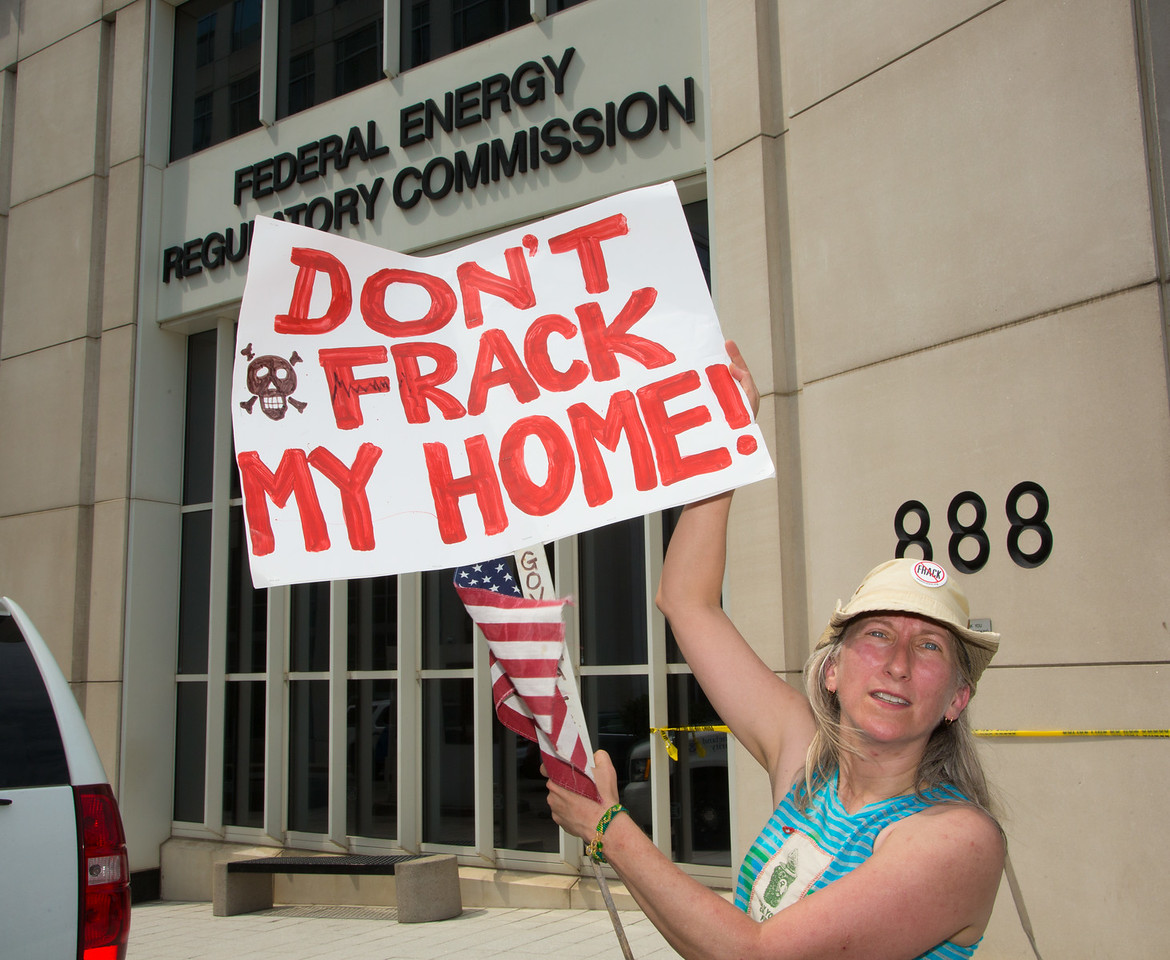 Cove Point Fracking Protest