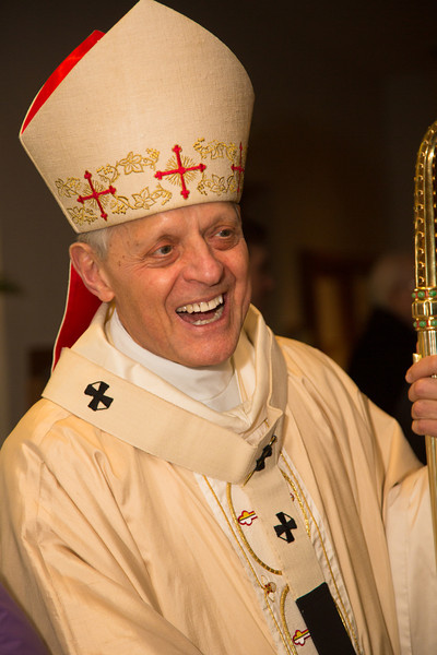 Cardinal Donald Wuerl, Archbishop of Washington, presided over  Mass at St. Patrick Church on March 17.