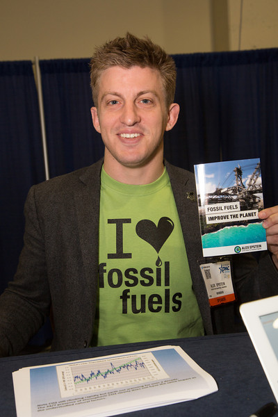 "Alex Epstein, President & Founder, Center for Industrial Policy, author of ""Fossil Fuels Improve the Plant""<br /> <br /> <br /> Thousands of conservative activists from across the United States attended the annual Conservative Political Action Conference (CPAC) at the Gaylord National Resort & Convention Center at National Harbor, MD on March 6-8."