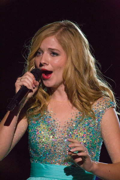 "Jackie Evancho performing ""My Heart Will Go On"" in remembrance of those who we have lost."