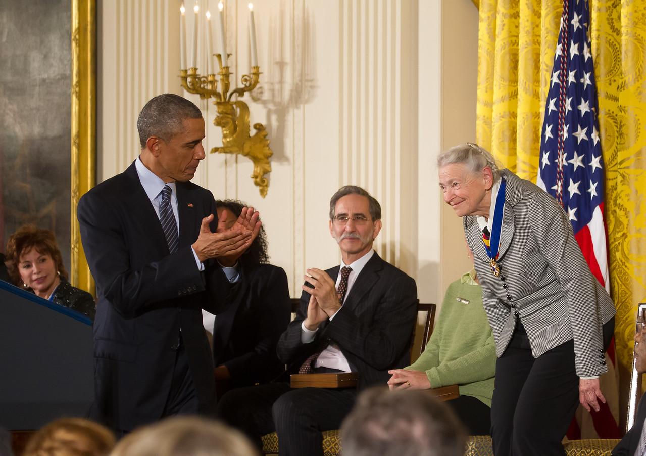 Mildred Dresselhaus, Barack Obama