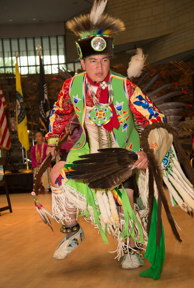 Marcus Winchester, Pokagon Band of Potawatomi<br /> Living Earth Festival 2014 (Nat. Mus. of Amer. Indian)<br /> July 19, 2014