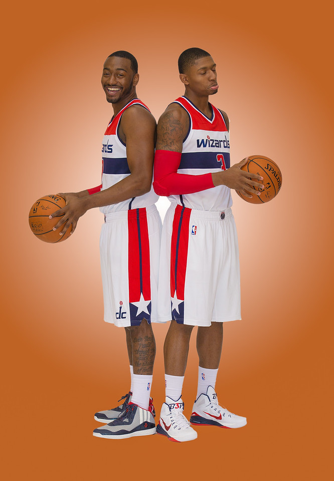 Wizards backcourt<br /> 2 John Wall<br /> 3 Bradley Beal