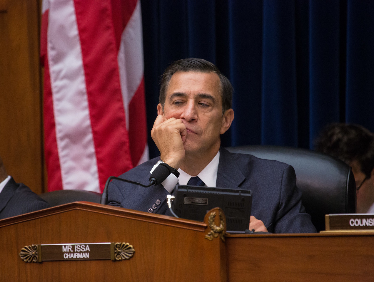 House Oversight Committee Chairman Darrell Issa (R-Calif.) is determined to get to the bottom of missing IRS emails at hearings on June 24 on Capitol Hill.