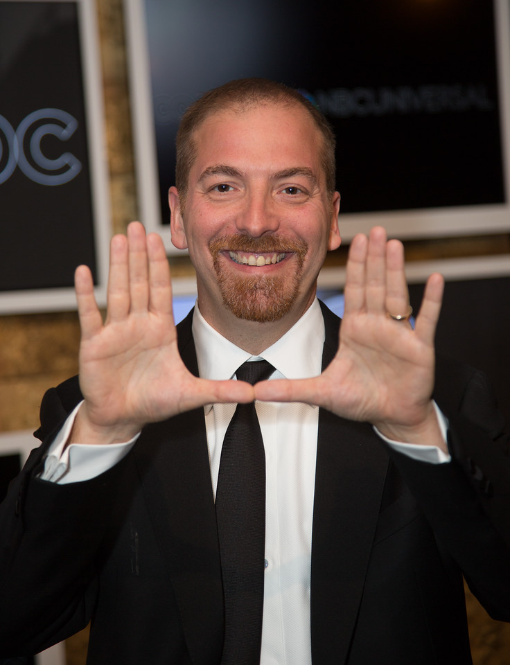 Chuck Todd<br /> <br /> The White House Correspondents' Association celebrated its 100th anniversary as it once again hosted members of the press, the government and the entertainment world for its annual event at the Washington Hilton on May 3