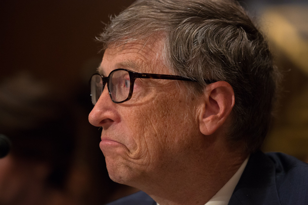 Bill Gates, Co-Chair, Gates (Bill and Melinda) Foundation, and other witnesses testified at a hearing on diplomacy and foreign aid before the Senate Appropriations Subcommittee on State, Foreign Operations, and Related Programs on March 26, 2015 on Capitol Hill in Washington D.C.