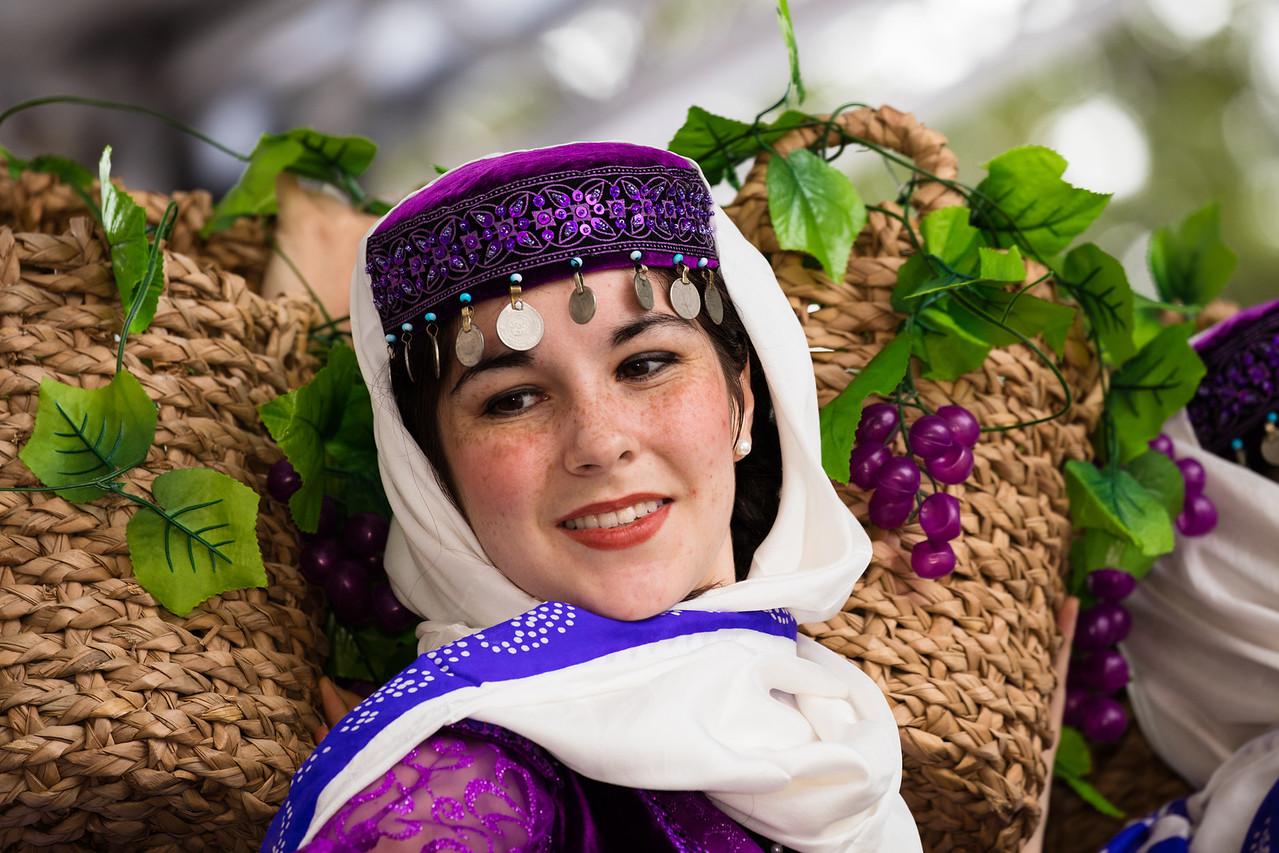 Turkish basket dance. Folk dancers from Hacettepe University of Ankara, Turkey perform at the Turkish Festival on Pennsylvania Ave. NW in Washington D.C. on Sept. 27, 2015.