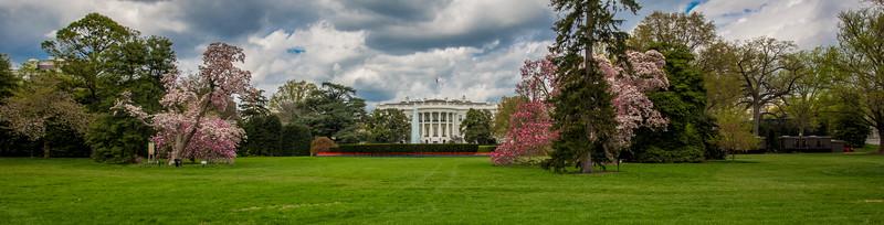 White House South Lawn on April 17, 2015.