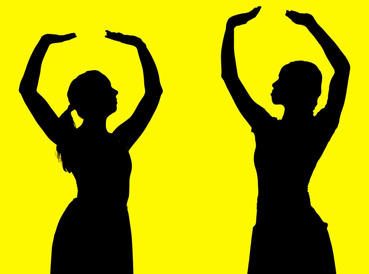 Alexandra Keen, and Joan Ayap - Bowen McCauley Dance Company, Oct 23, 2015 at Dance Place in Washington D.C.