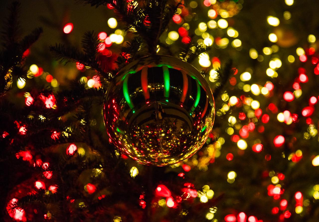 Canadian Embassy Christmas tree ornament on Dec. 13, 2015 in Washington D.C.