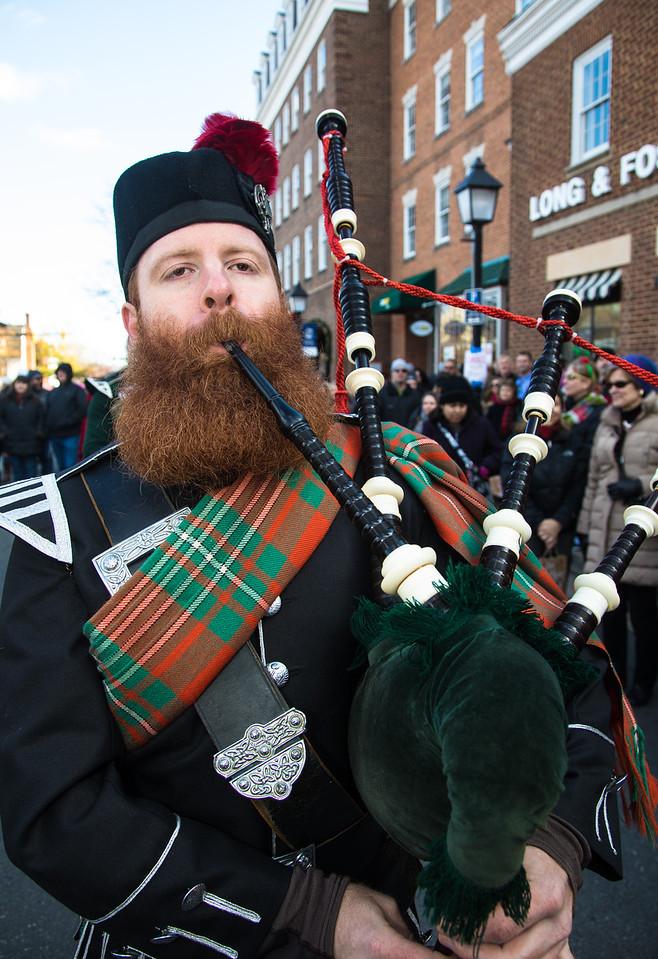 Scottish Christmas Walk Parade