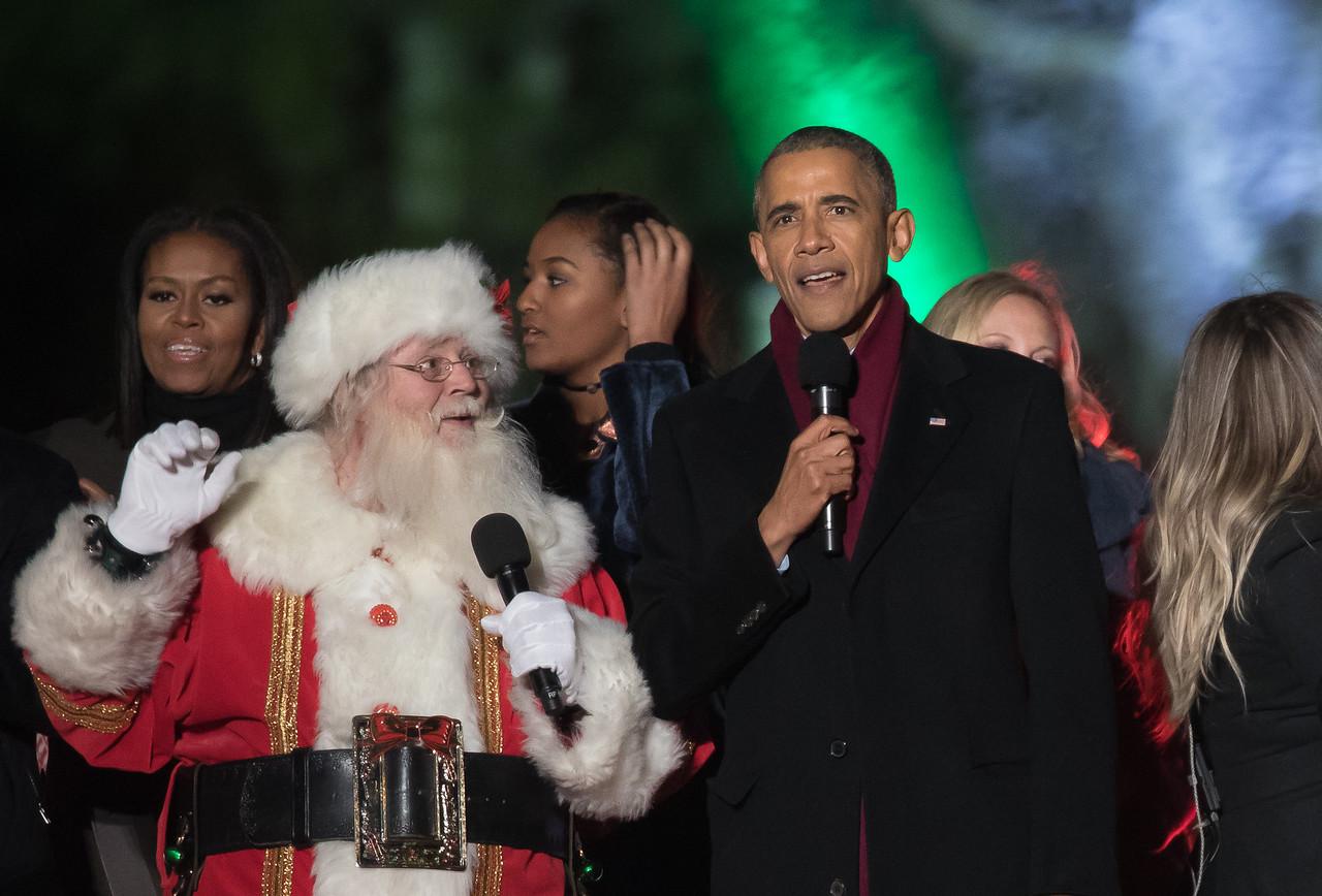 Barack Obama, Sanata, National Christmas Tree